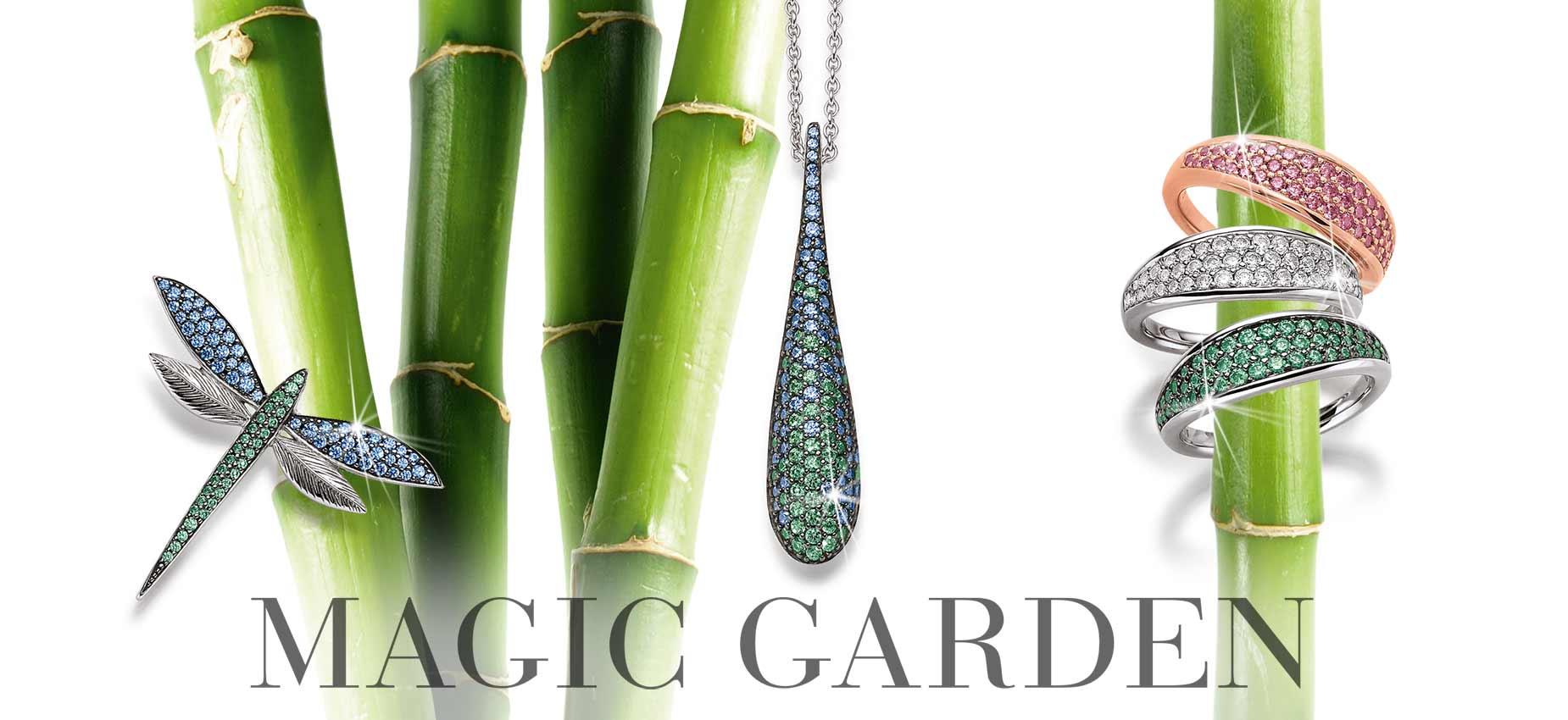 VIVENTY Silberschmuck Kollektion Magic Garden