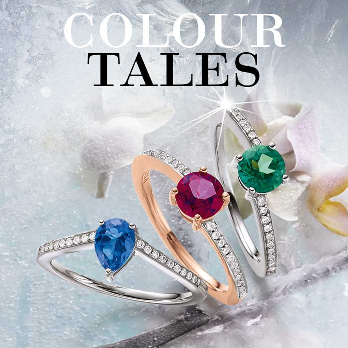 VIVENTY Silberschmuck Kollektion Colour Tales