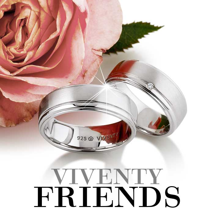 VIVENTY Silberschmuck Kollektion Viventy Friends