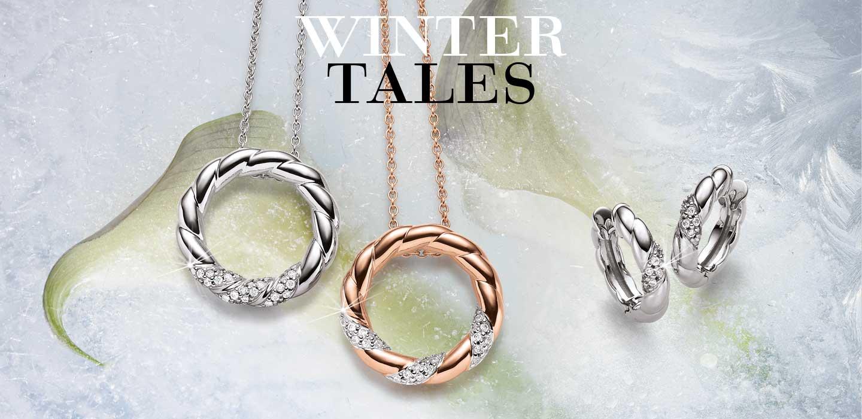 VIVENTY Silberschmuck Kollektion Winter Tales