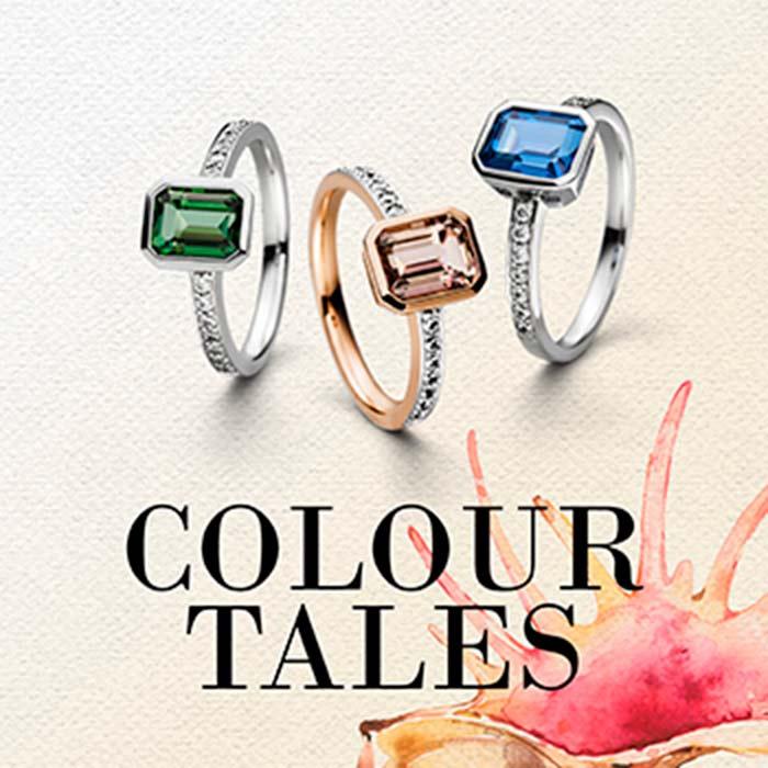 VIVENTY Silberschmuck Collection Colour Tales