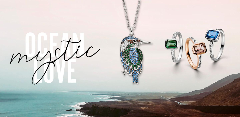 VIVENTY Silberschmuck Kollektion Mytsic Ocean Love