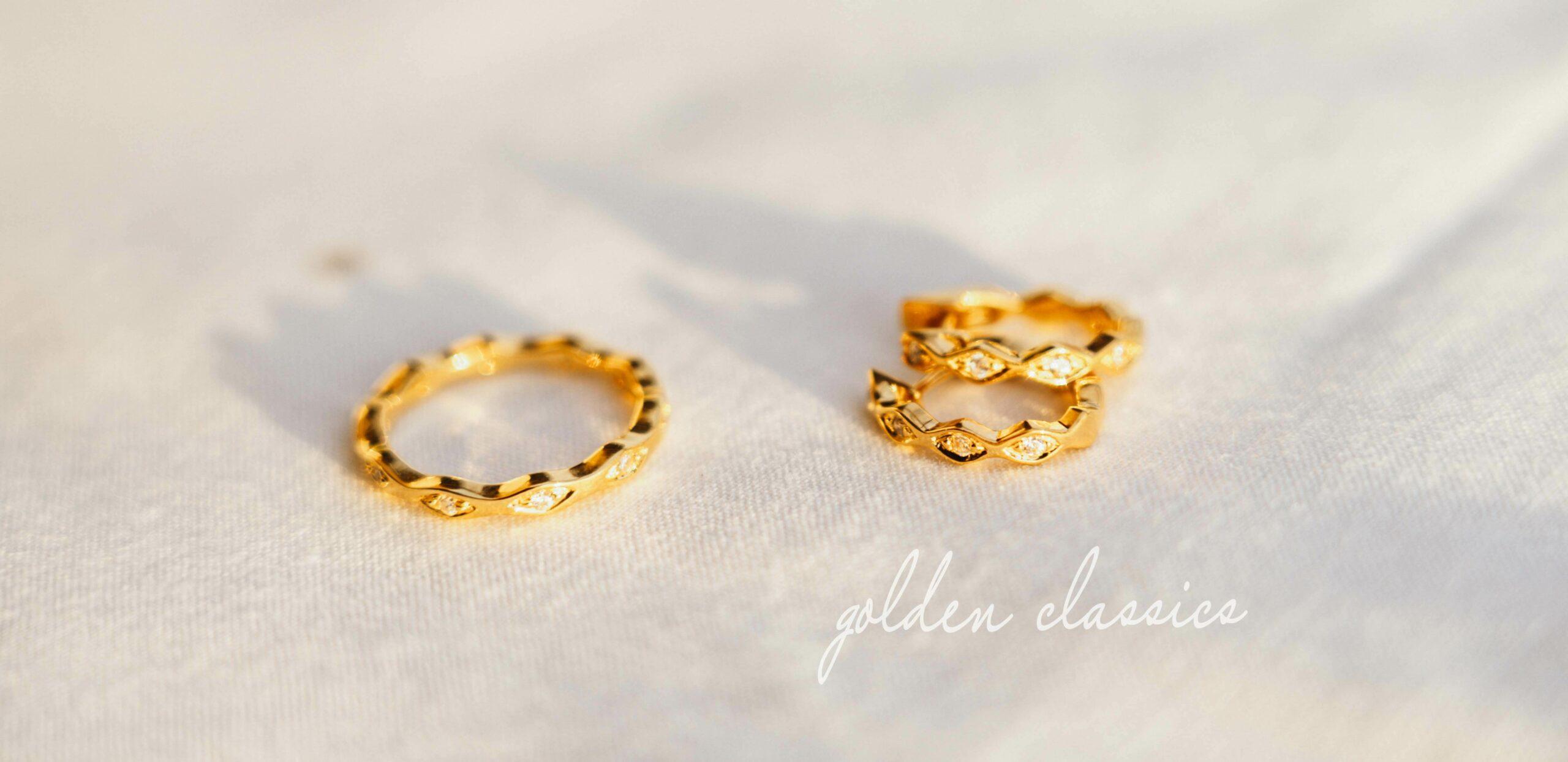 VIVENTY Silberschmuck Collection golden classics